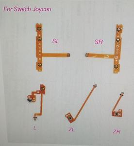 Image 1 - Оригинальный 25 шт./лот ns switch joy controller SL SR L ZL ZR button flex cable ribbon