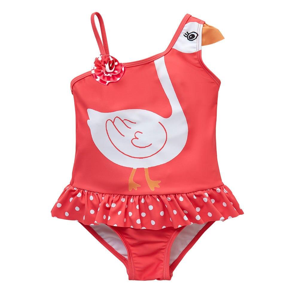 Micro For Baby Swimwear Swan Korean-style KID'S Swimwear Big Boy Hot Springs Quick-Dry Onesie GIRL'S Swimsuit