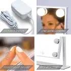 Косметическое зеркало для макияжа с светильник светодиодный 5X 7X 10X увеличение телескопические расширения 2 лицевая сторона Ванная комната ... - 5