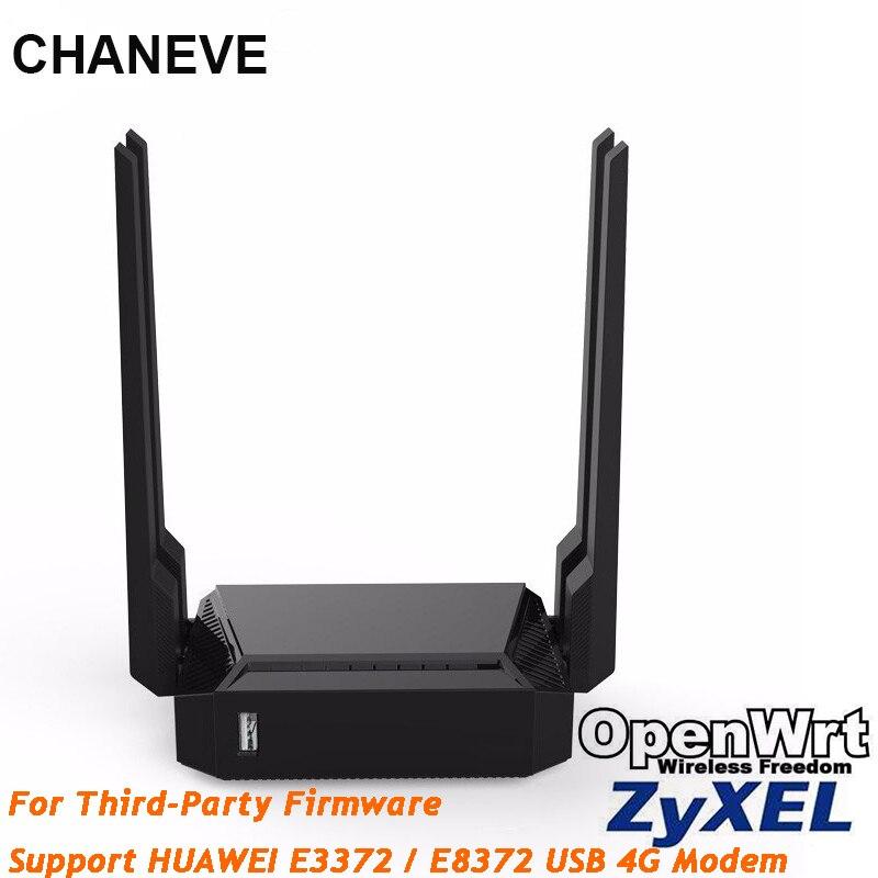 Wi-Fi-роутер CHANEVE OpenWRT с поддержкой прошивки Keenetic Omni II