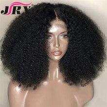 Afro Kinky Krullend Pruik 13X4 Lace Front Menselijk Haar Pruik Hoge Verhouding Voor Vrouwen Remy Haar Pruik Menselijk haar Kant Voor Pruiken