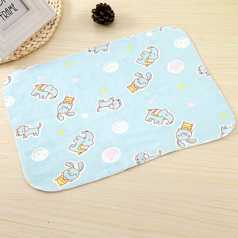 Double-sided 3layers Baby Infant Washable Diaper Nappy Urine Mat Soft Menstrual Pad Kid Waterproof Bedding Changing Pads Covers