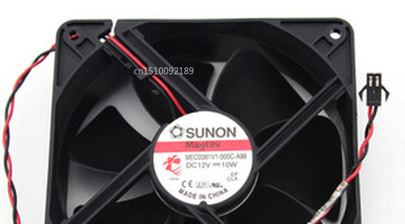 Free Shipping MEC0381V1-000C-A99 DC 12V 10W 120x120x38mm Server Cooler Fan