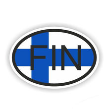 Hot Sell Creative Finland FIN Car Stickers Styling Motorcycles Bumper Window Car Decals Decal Car KK 15*10cm