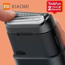 XIAOMI-Mini Afeitadora eléctrica MIJIA BRAUN para hombre, afeitadora portátil flexible, recortadora de barba, cortador, cómoda y limpia