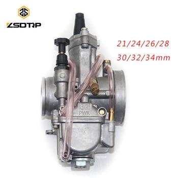 ZSDTRP, motocicleta de 4 tiempos para Keihin Koso OKO, Carburador de motocicleta 21 24 26 28 30 32 34 mm con Power Jet