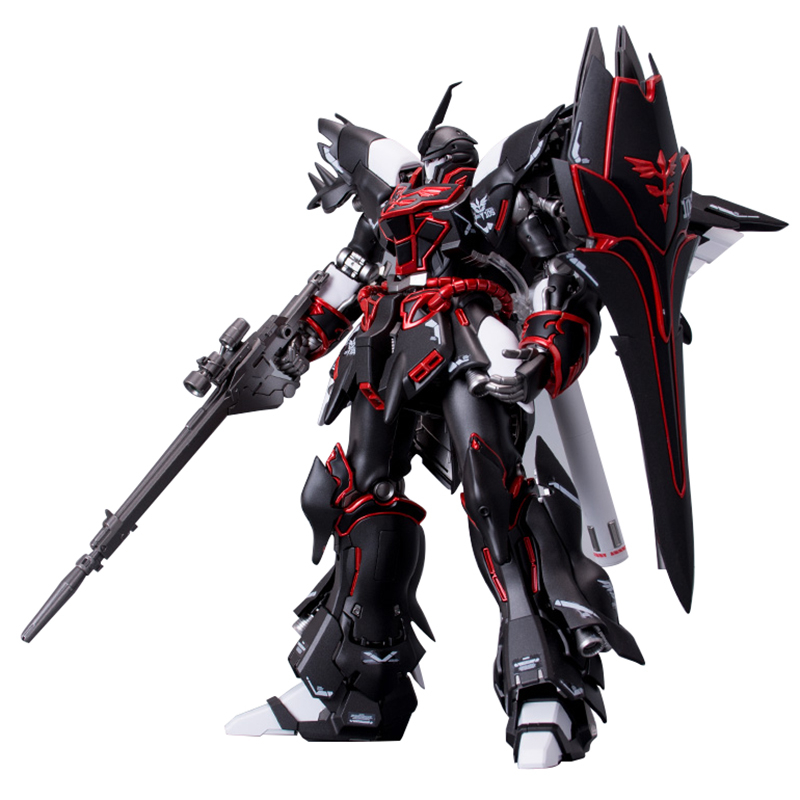 Bandai Gundam RG MSN-06S 1/144 Sinanju Black Action Figure Anime Model Mobile Suit Unicorn With Decal Assembling Collection Toys(China)