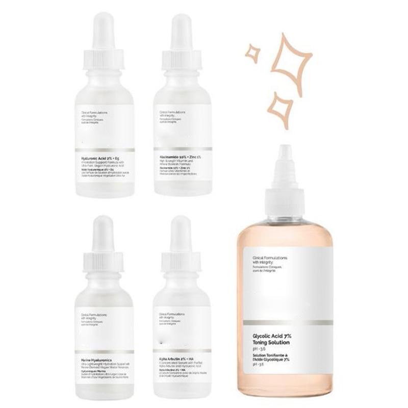 The Ordinary Serum Alpha Arbutin 2% +HA  AHA 30%+ BHA 2% Salicylic Acid 2% Niacinamide Foundation Make Up Skin Care Makeup 30ml