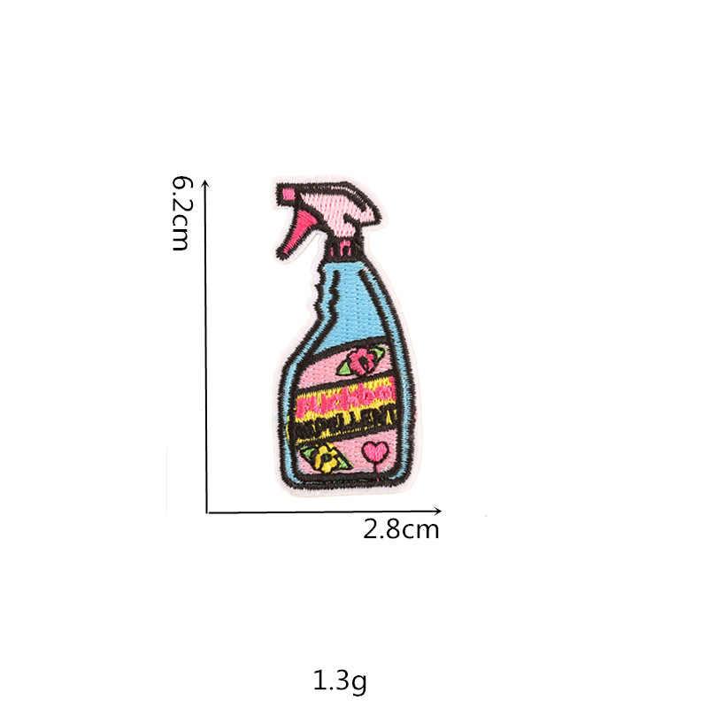 Baru Botol Warna Warni Remover Cinta Bintang Besi Di Bordir Pakaian Baterai Patch untuk Pakaian Stiker Pakaian Grosir
