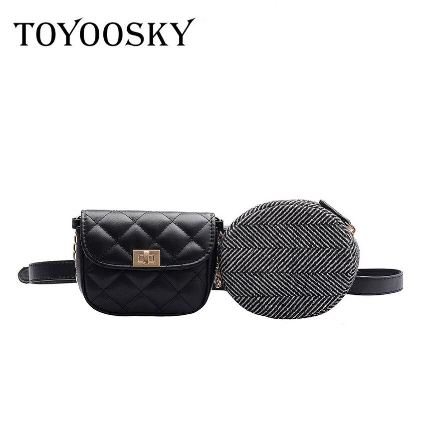 Women Waist Bag Fashion Leather Waist Belt Bag Crossbody Chest Bags Girls Fanny Pack Small Designer Women Shoulder Strap Packs