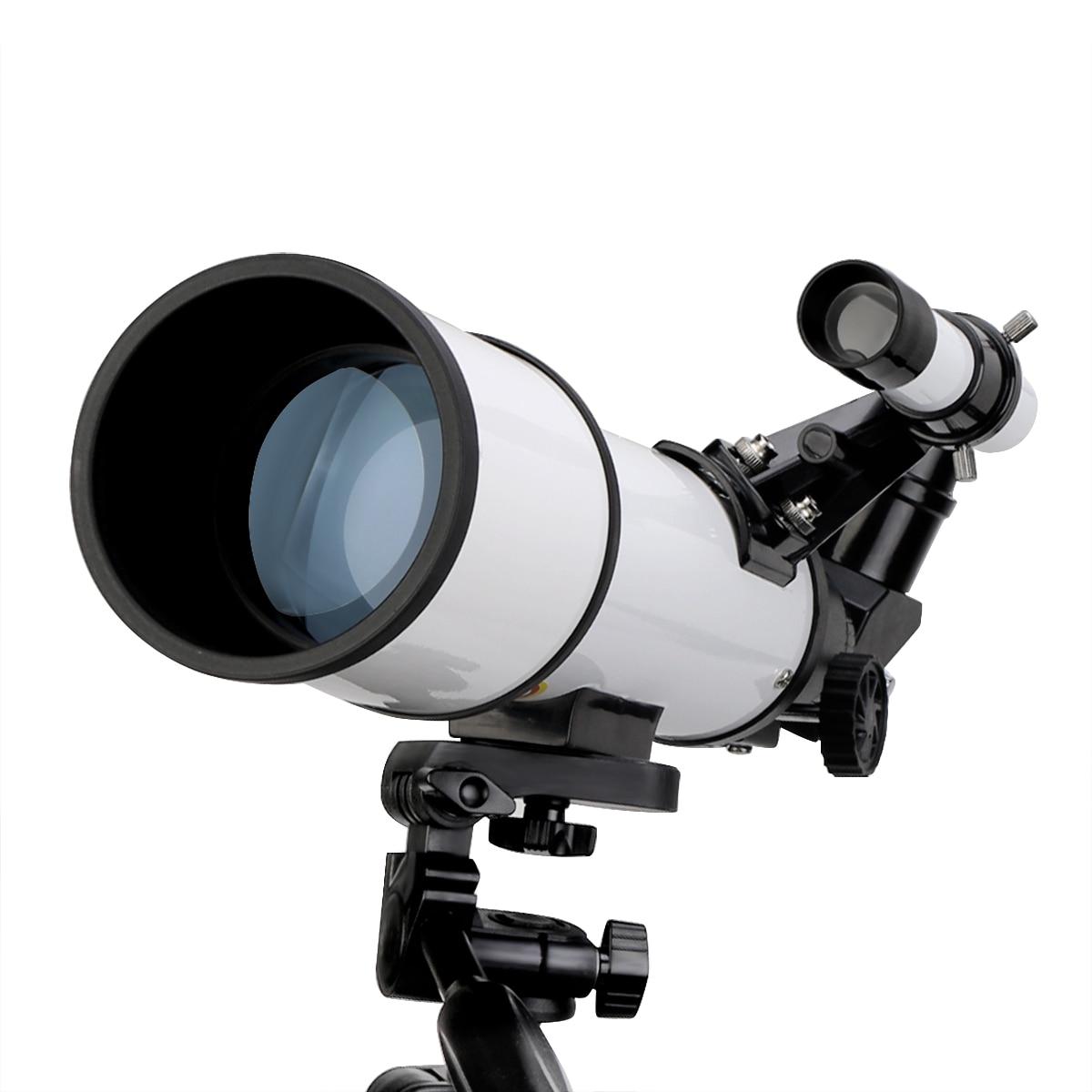 profissional visão noturna espaço profundo vista estrela lua monocular telescópio