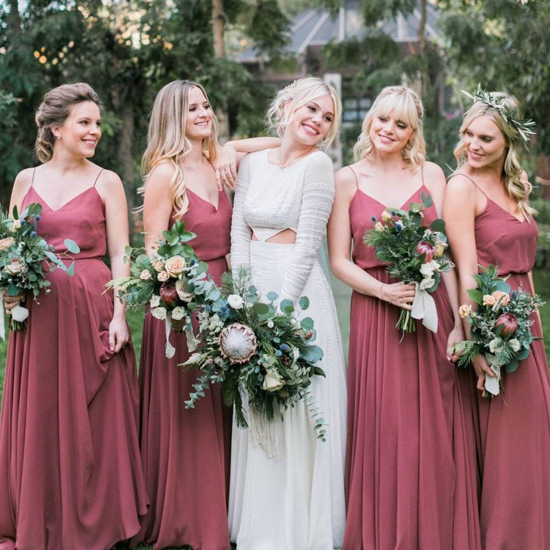 Bridesmaid Dresses 2020 Wedding Guest Dress Long Evening Party Dresses