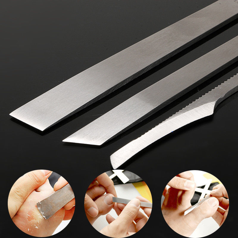 3Pcs/Set Toe Pedicure Knife Tools Ingrown Cuticle Tools Dead Skin Corn Removers Nail Foot Care Tool Kit High Quality