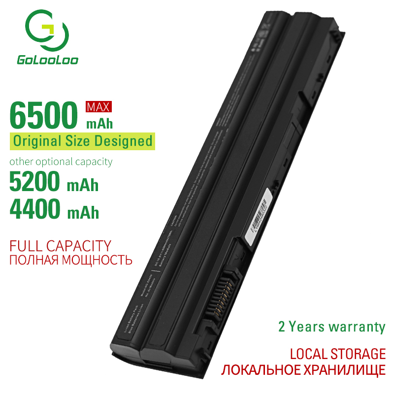 Golooloo 6500mAh New Laptop Battery For Dell Latitude E6420 ATG E6420 XFR E6430 E6430 E6440 E6520 E6530 Vostro 3460 04NW9 05G67C