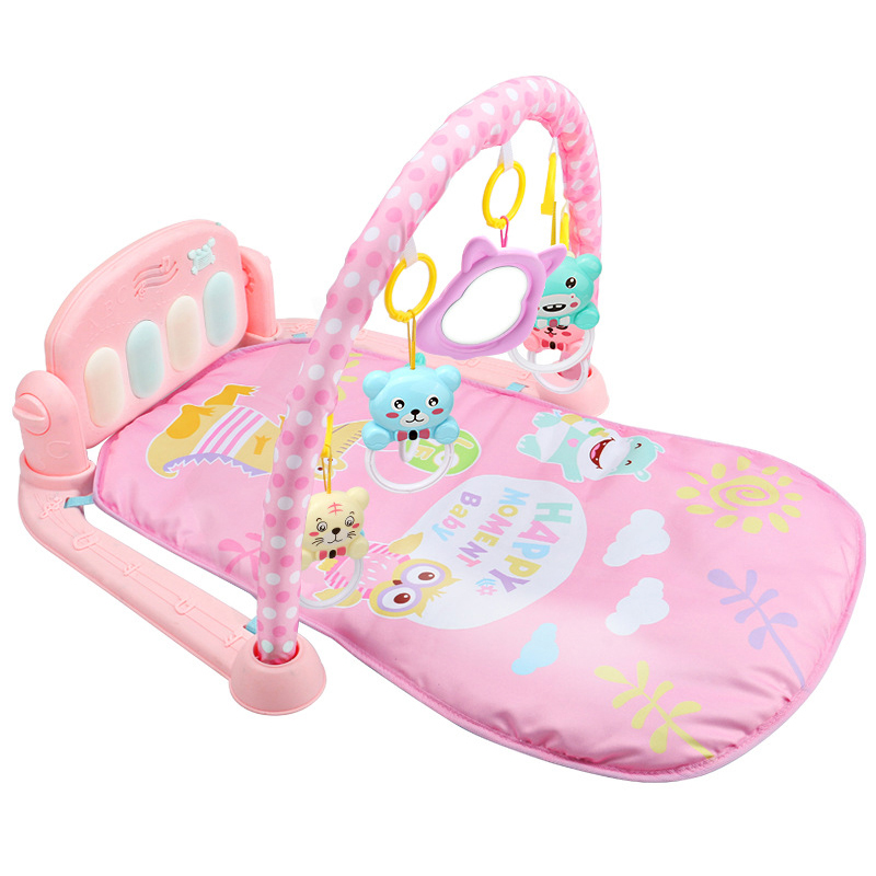 Baby Play Mat Kids Rug Educational Puzzle Carpet With Piano Keyboard And Cute Animal Play Mat Baby Gym Crawling Activity Mat Toy | Happy Baby Mama