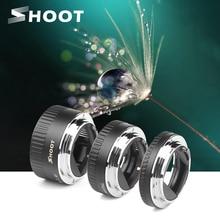 Schieten Auto Focus Macro Extension Tube Ring Voor Canon Eos EF S Lens 1300D 1100D 1200D 1000D 4000D 700D 650D 450D 77D T6 Accessoire