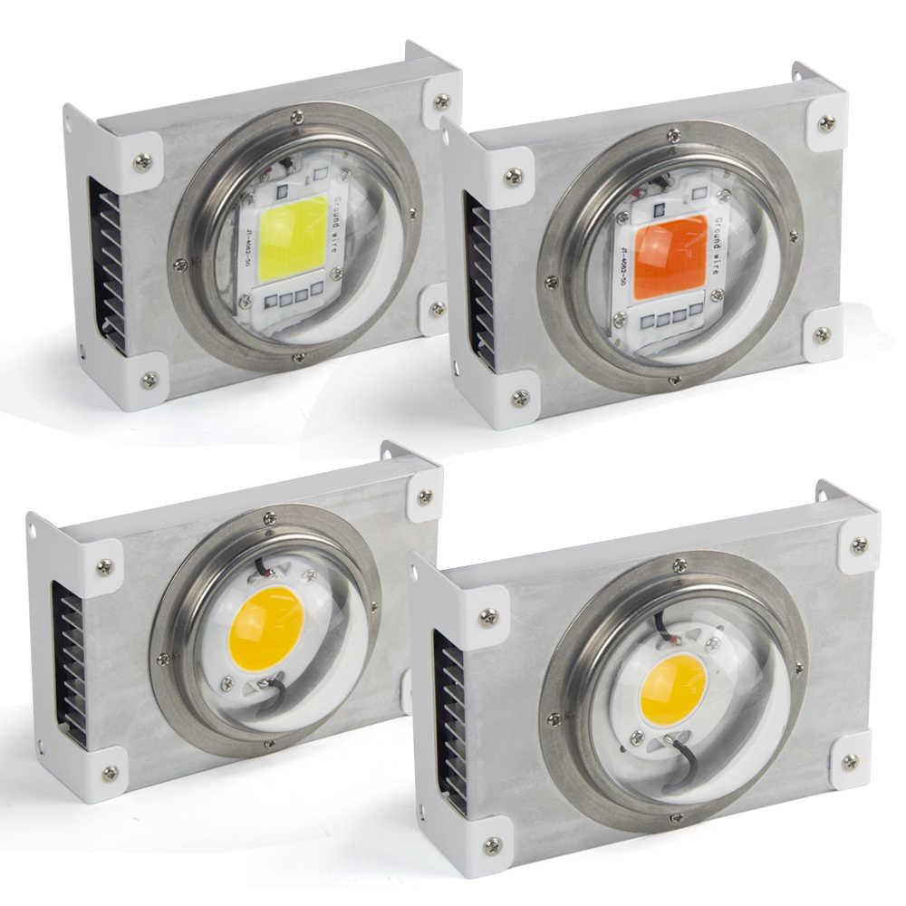 CREE CXB3590 COB LED Luz de crecimiento CXB3070 espectro completo 100W Citizen 1212 LED lámpara de cultivo tienda de interior planta hidropónica de invernadero