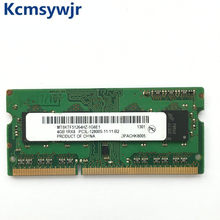 Chipset micron, chipset 4gb 1rx8 2rx8 pc3l 12800s ddr3 1600mhz 4gb laptop, módulo para notebook, memória ram sodimm