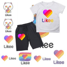 Likee app summer baby boy clothes sets kid cute likee live children