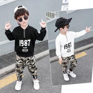 Image 2 - 3 4 5 6 7 8 9 10 11 12 ปีชายเสื้อผ้าเสื้อกางเกงเสื้อผ้าเด็กชุดเด็กฝ้ายชุดลำลองเด็กชุดสำหรับ Boy