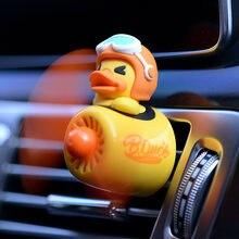 New style Cartoon duckling Pilot Car Air Freshener perfume Automobile Interior Perfume Clip Fragrance Ornament Car Accessories