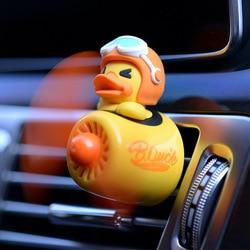 Désodorisant de voiture, nouveau style, dessin animé canard pilote voiture, parfum intérieur Automobile, Clip parfum ornement, accessoires de voiture