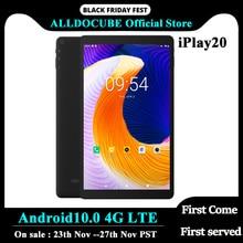 ALLDOCUBE iPlay20 10.1 אינץ 1200*1920 כפולה 4G LTE טלפון Android10.0 טבליות מחשב SC9863A אוקטה Core 4GB RAM 64GB ROM הכפול Wifi חדש