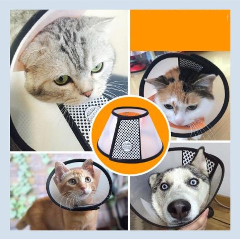 Pet Dogs Cats Collar Circle Anti Bite Pet Feeding Medicine Beauty Healing Brace Cover Pet Accessories