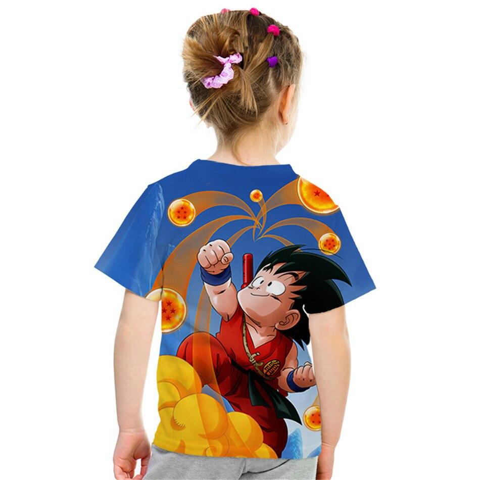 Bola de Dragón Goku Dragon Ball camiseta t-shirt chico chica