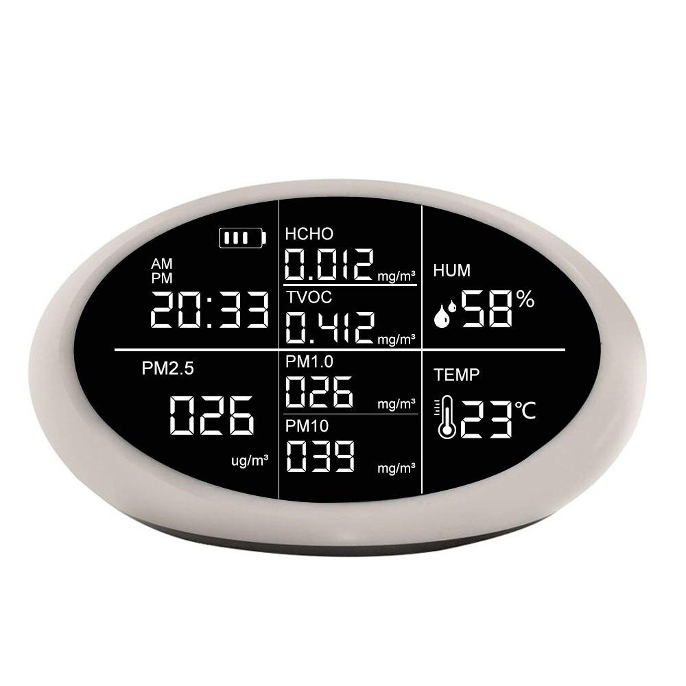 Детектор формальдегида (HCHO) для помещений Dienmern PM2.5 TVOC анализатор газа монитор качества воздуха детектор анализатор датчик измеритель