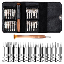 Screwdriver Set 23 in 1 Precision Screwdrivers Repair Tool Set With 2pcs Stainless Steel Tweezers Straight Elbow Hand Tools Kit