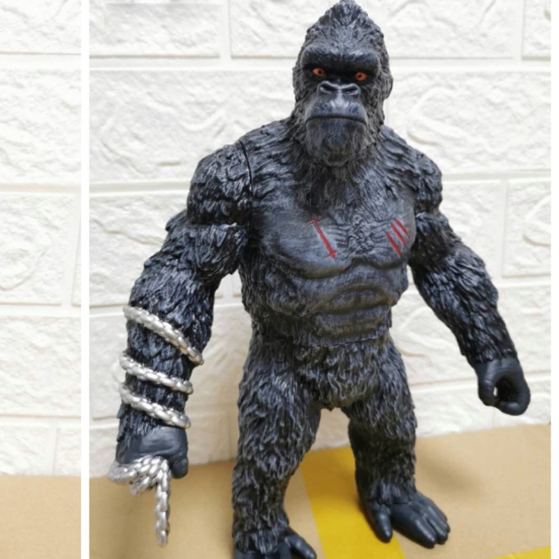 Brangdy Skull King Kong Doll Mould Chimpanzee Joint Figure Ornaments Can be Hand-made Child Toy Model Boy and Girl Birthday Gift
