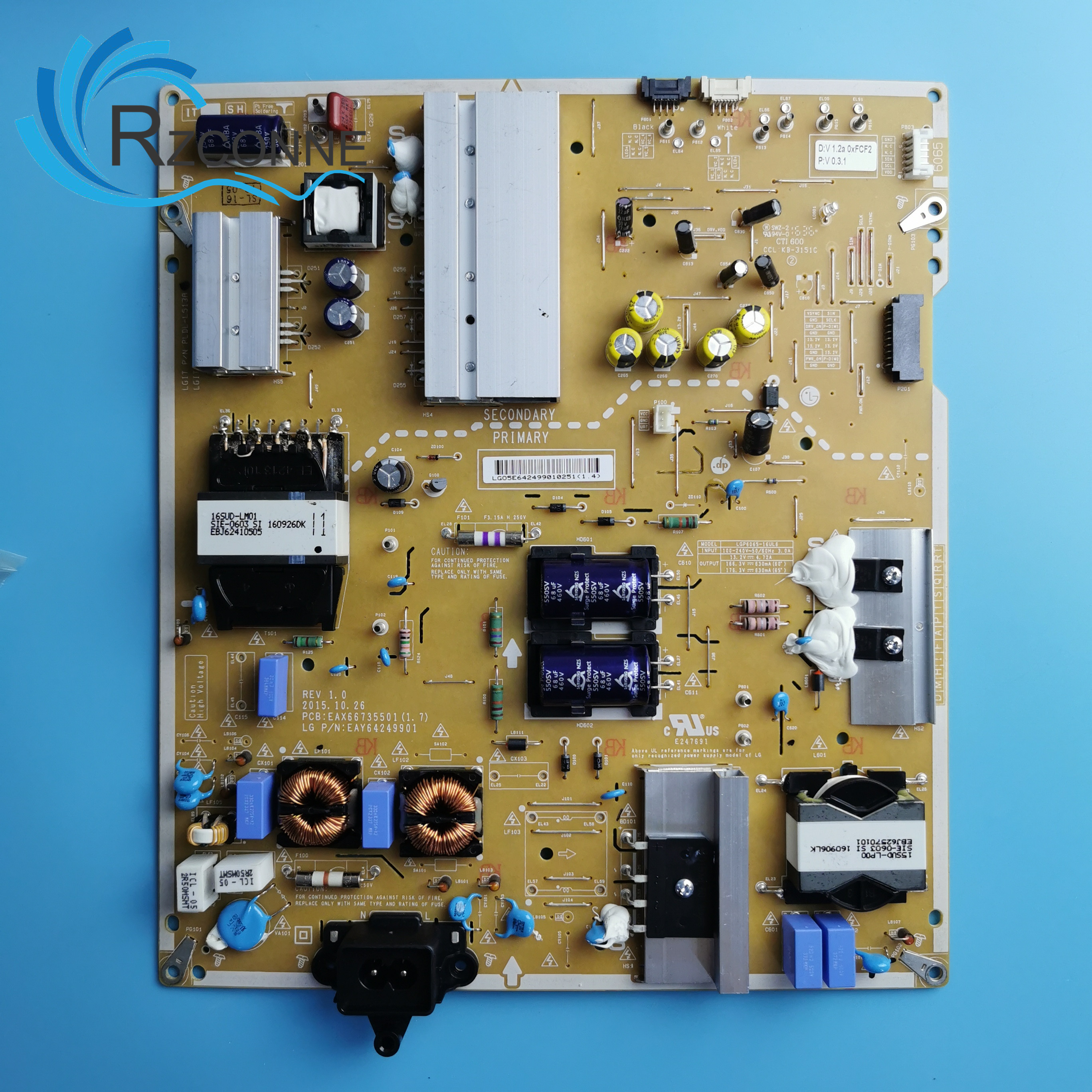 Power Board Card Supply For LGP6065-16UL6 EAX66735501 LG TV 60UH770V 65UH770V