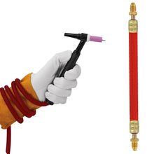 9/17 Series Superflex Welding TIG Torch Power Cable Wire 25Feet Ultra-flexible CK57Y03RSF Connected-3/8 In -X 24 RH Cable