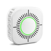 RF433 Smoke Detector,Wireless Smoke Fire Alarm Sensor,Security Protection Alarm for Home Automation,Work with Sonoff RF Bridge(China)