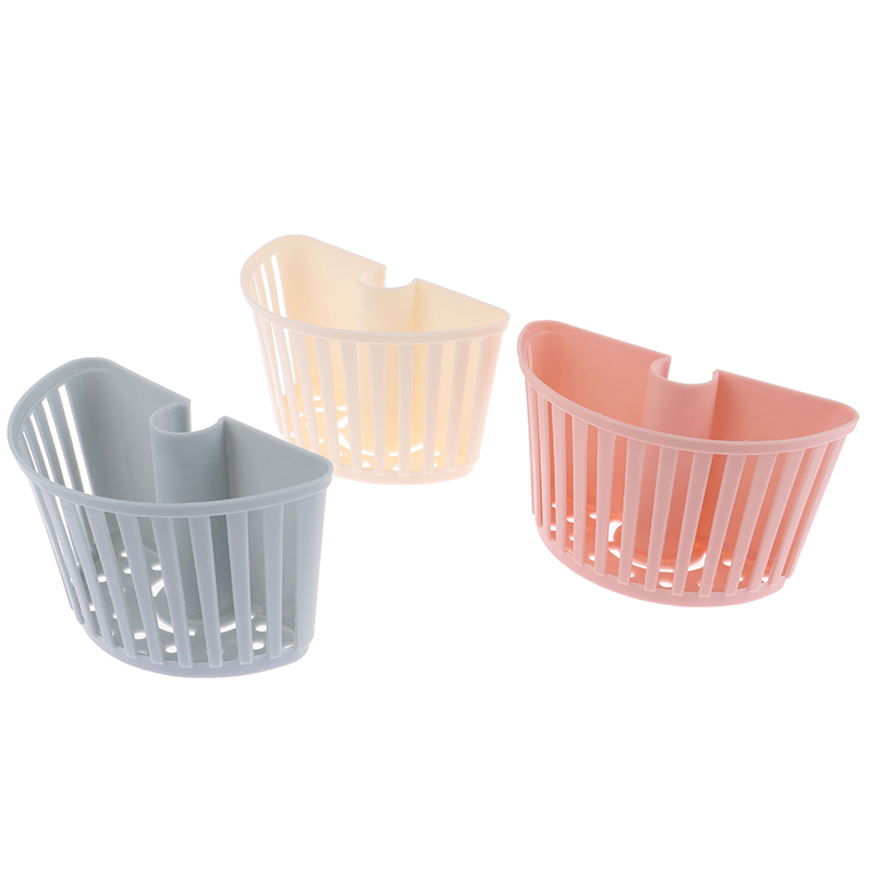 1Pcs Plastic Bathroom Shelves Shower Bar Storage Basket Tray Holder Organizer Shower Storage Holder Kitchen Accessory