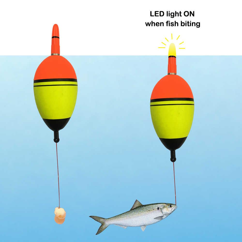 Smart Strike Alert Float Electric Light Fishing Bobber Night Fishing Strong P6S9