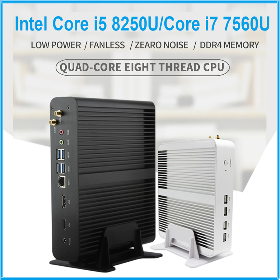 Pre-sale Limited SKU! Intel Core i5 7200U/i3 7100U Eglobal 7th Gen Kaby Lake Win10 Fanless Mini PC 4K HTPC Intel HD Graphics 620 устройство аккордеона