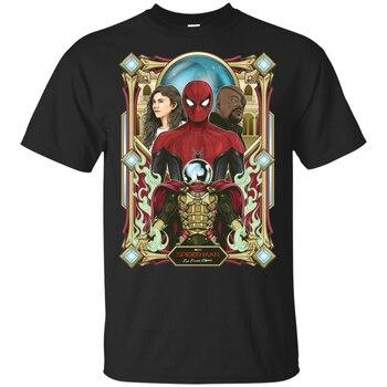 Araña hombre lejos de casa camiseta Mysterio Spider Man Marvel camiseta S-3Xl camiseta de calle