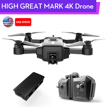 HIGH GREAT MARK 4K Drone FPV With 1080P HD Camera GPS VIO Positioning Smart Gimb