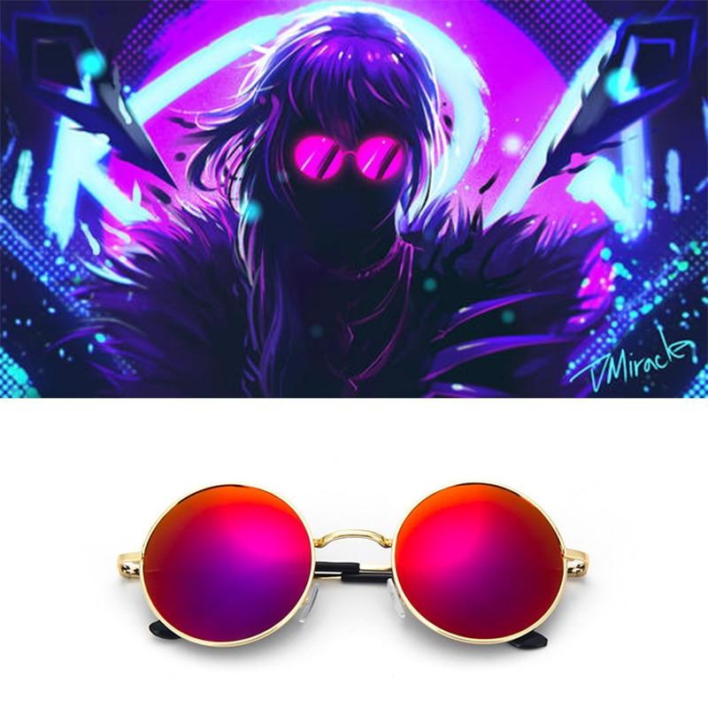 Очки для косплея Evelynn Red, K/da Kda S8, опора для очков