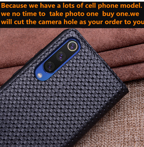 Image 4 - Genuine Leather Retro Vintage Magnetic Phone Bag Cover For Huawei P Smart Z/Huawei P Smart Holster Cover Coque Back Case Funda