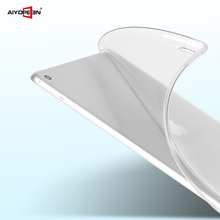 50pcs/lot for ipad air back cover soft tpu 9inch matte transparent bottom case with retail package apple 5
