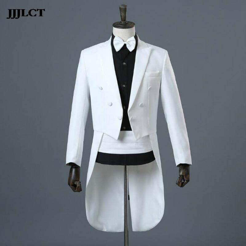 New Beautiful Singer Costumes Jazz Suit Dance Clothes Men's Suits Dresses Tuxedo Magic Show Command Clothing