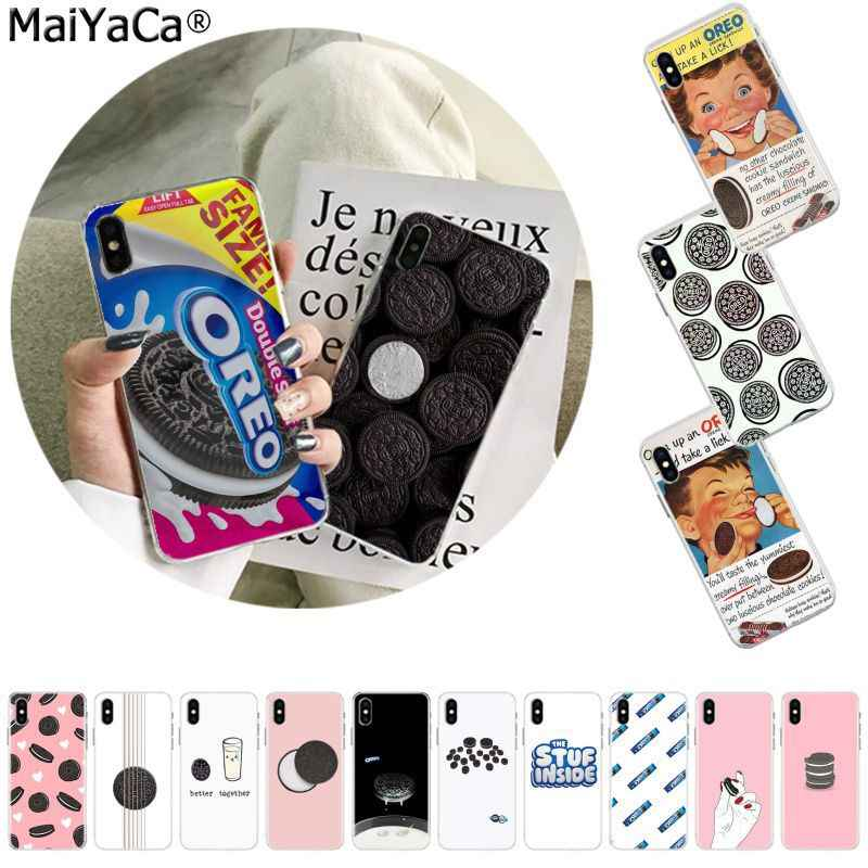 MaiYaCa Oreo Biscuits Novelty Fundas Phone Case Cover for Apple iphone 11 pro 8 7 66S Plus X XS MAX 5S SE XR cover Mobile Cover