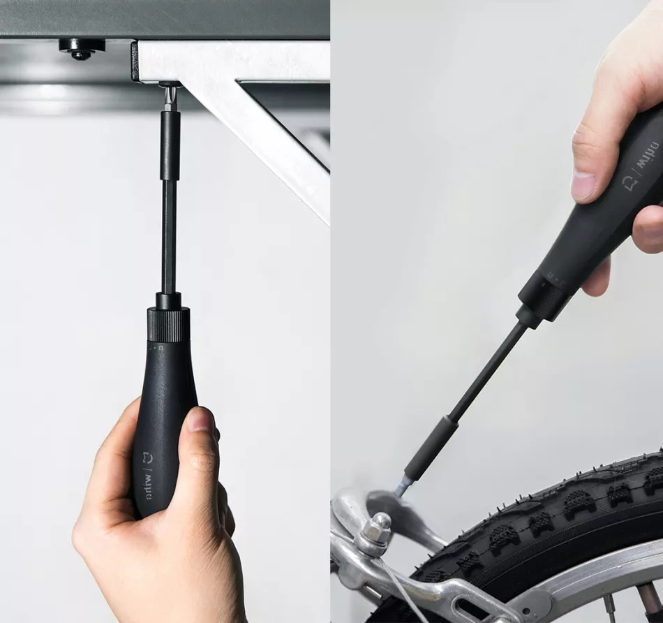 Tools : Hot Xiaomi Mijia Wiha 16 In 1 Screwdriver Kit Multi-function Steel Screwd Bits with Extension Rod Magnetic Repair Tools