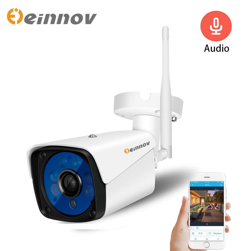 Einnov 1080P 2MP Überwachung Kameras Mit Wifi IP Kamera Outdoor Wireless Sicherheit Camara Onvif CCTV System Aduio Set HD camhi