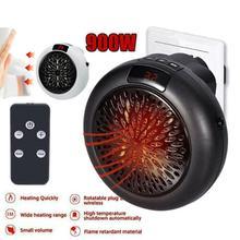 900w aquecedor elétrico mini ventilador aquecedor de parede do agregado familiar acessível aquecimento fogão aquecedor do radiador máquina para o inverno