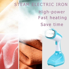 200Ml Handheld Fabric Steamer Fast-Heat 1000W Powerful Garment Steamer for Home Travelling Portable Steam Iron(Eu Plug) handheld steamer kitfort кт 916 handheld steamer for clothes steam generator for home steam cleaner home appliances steamer vertical