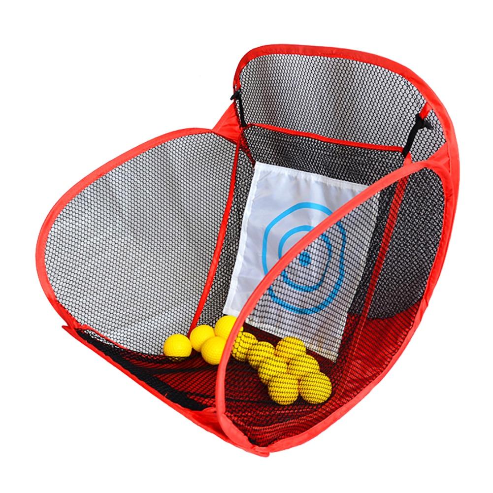 Купить с кэшбэком Golf Practice Nets Indoor Outdoor Garden Training Portable Golf Practice Supplies